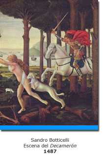 El Decamerón y la pintura