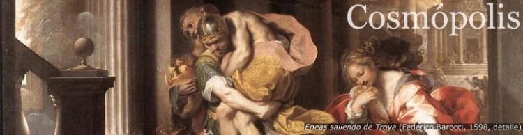 Eneas saliendo de Troya