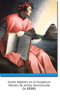 Dante en el Purgatorio