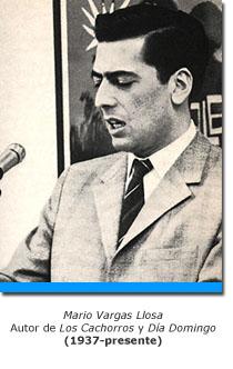 Vargas Llosa en su juventud