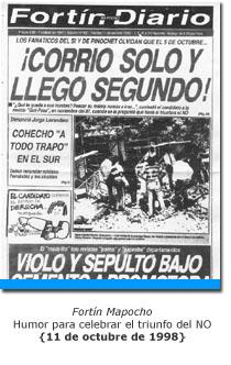 Fortín Mapocho - 11 de octubre de 1988